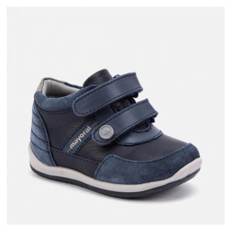 Chlapecká kožená obuv MAYORAL 42050 | modrá