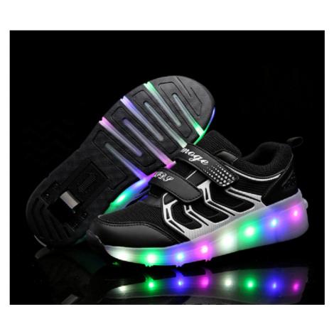 Svítící boty na kolečkách FashionEU