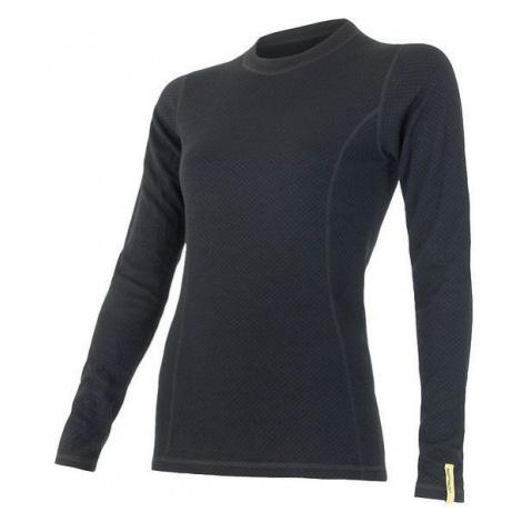 Dámské tričko SENSOR Merino DF dl.rukáv černá