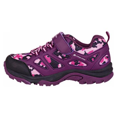 Dětská obuv Alpine Pro ARDMORO - fialová