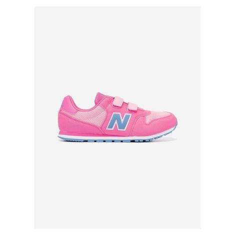 500 Tenisky dětské New Balance Růžová