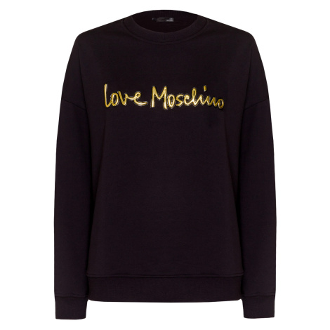 Mikina LOVE MOSCHINO černá