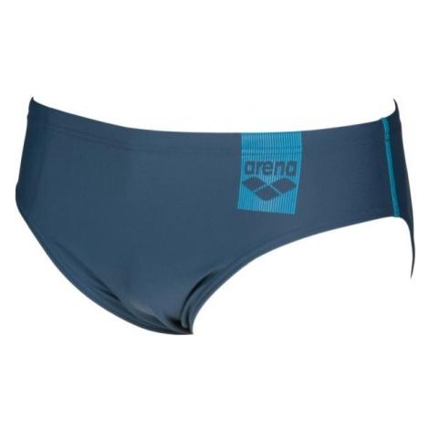 Arena M BASICS BRIEF tmavě modrá - Pánské slipové plavky