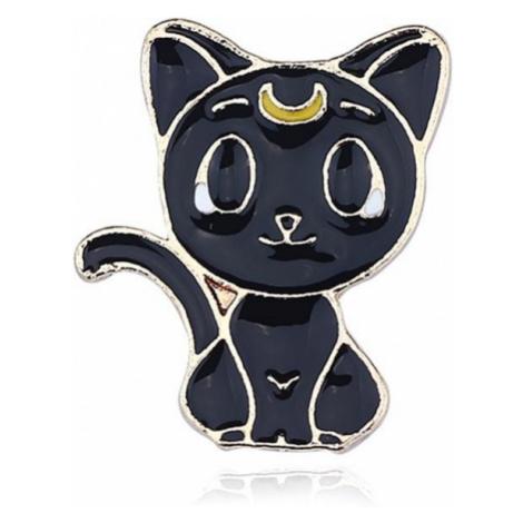 Brož s motivem manga Kočky