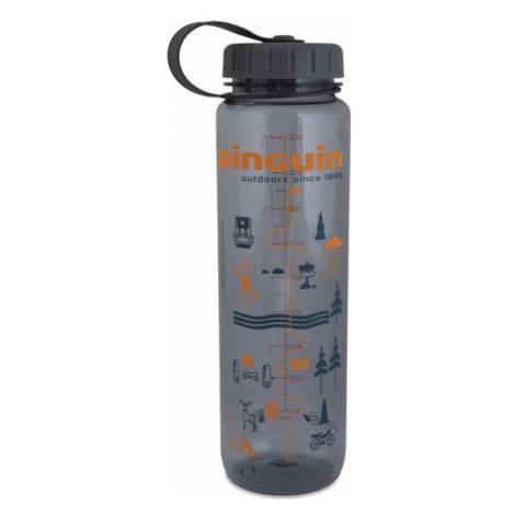 Pinguin Tritan Slim Bottle 1l, šedá