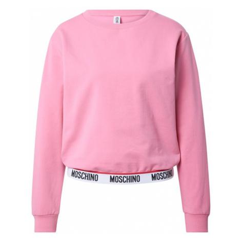 Moschino Underwear Mikina světle růžová / bílá / černá