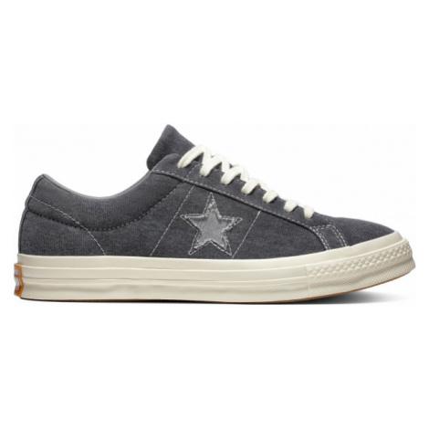 Converse ONE STAR tmavě šedá - Pánské tenisky