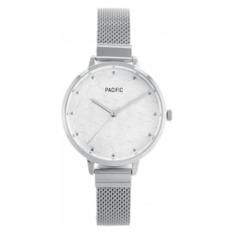 Dámské hodinky PACIFIC X6098 - stříbrné (zy614a)