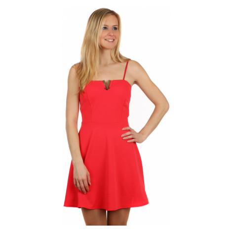 Krátké šaty s aplikací