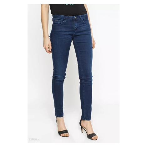 Calvin Klein dámské modré denim džíny