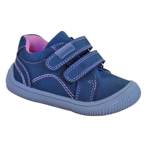 dívčí boty Barefoot LARS GREY, Protetika, šedá