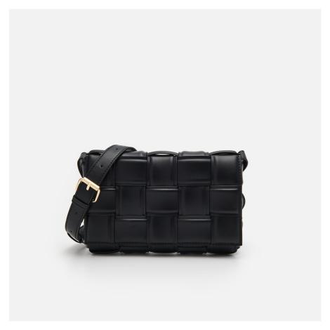 House - Slaměná kabelka přes rameno - Černý