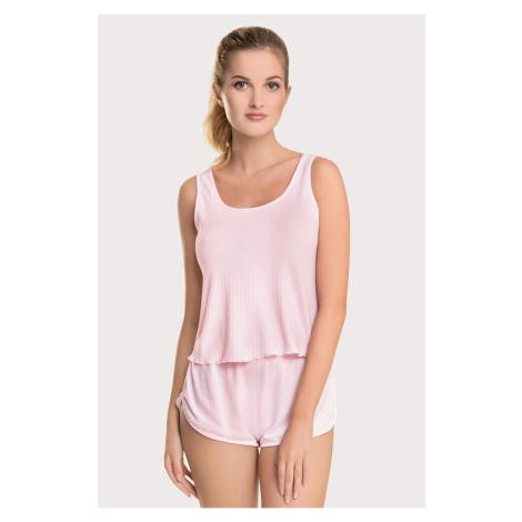 Dámské letní pyžamo Melody růžová Dorina