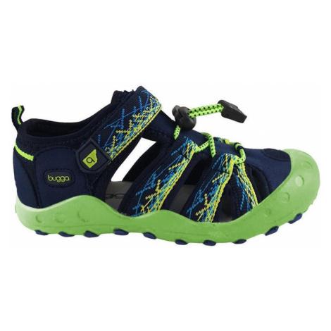 Modrozelené chlapecké sportovní sandály Emilia Pidilidi