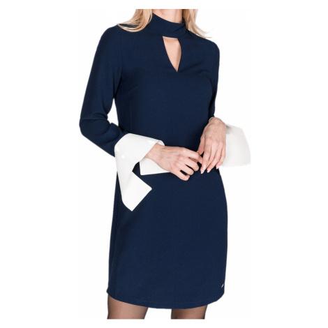 Modré šaty - ARMANI EXCHANGE