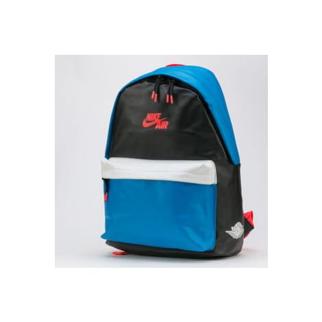 Jordan Air 1 Backpack černý / modrý / bílý / neon růžový