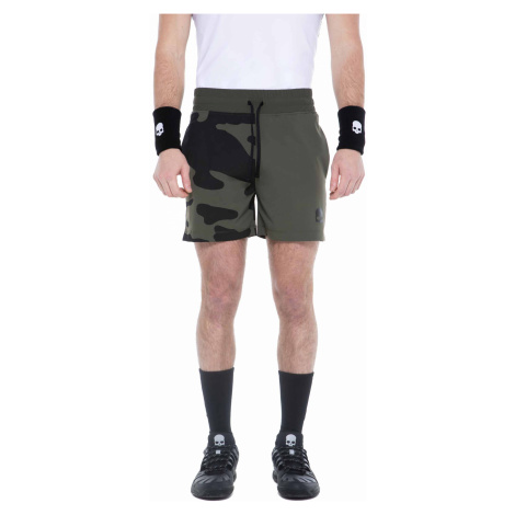 Pánské šortky Hydrogen Tech Camo Shorts Military Green