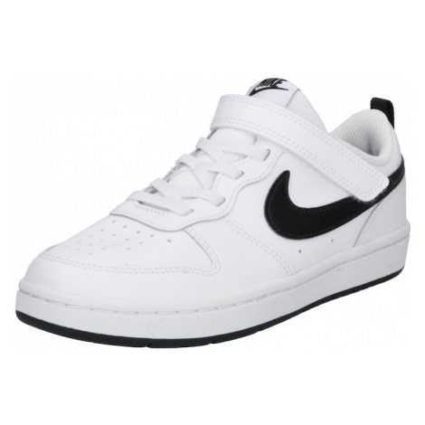 Nike Sportswear Tenisky 'Court Borough Low 2' bílá / černá