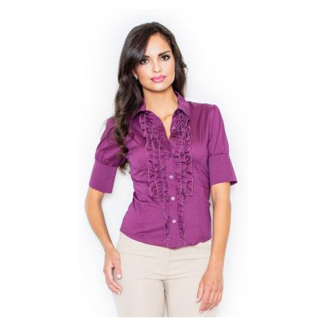 Figl Woman's Shirt M025 Eggplant