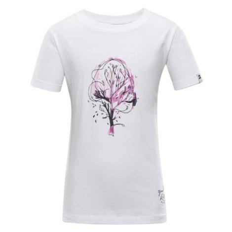 Branto 3 bílá dětské triko ALPINE PRO