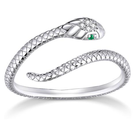 Linda's Jewelry Stříbrný prsten Královna Hadů Ag 925/1000 IPR058 Velikost: Univerzální