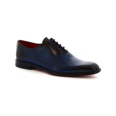 Leonardo Shoes 990 V.BLU Modrá