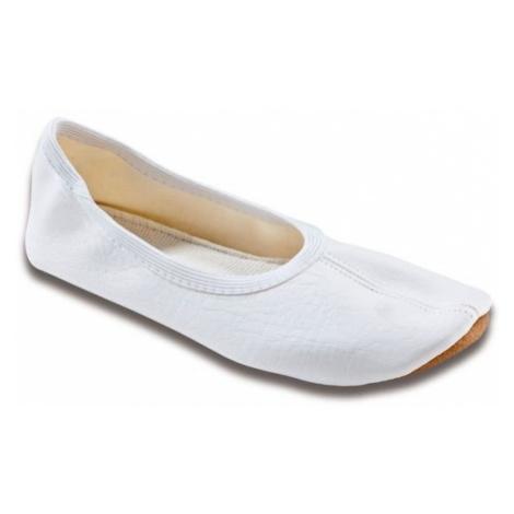 Gymnastická obuv Beck Basic - bílá 028