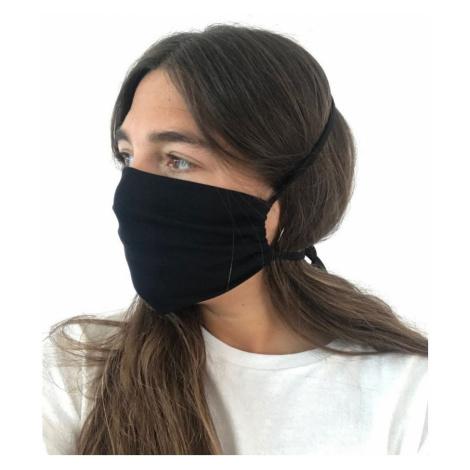 """Obličejová maska """"Organic"""" MX1 - 1 ks., Černá"""