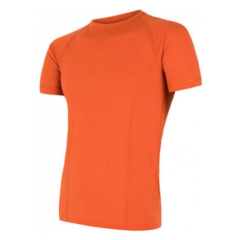 Pánské tričko SENSOR Merino Air oranžová