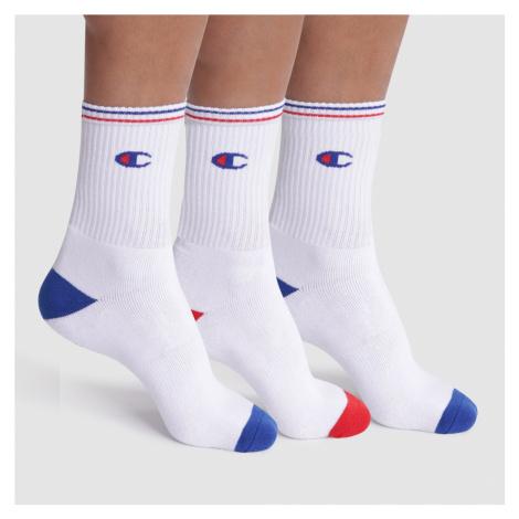 Ponožky UNISEX Champion 829 3PACK | bílá