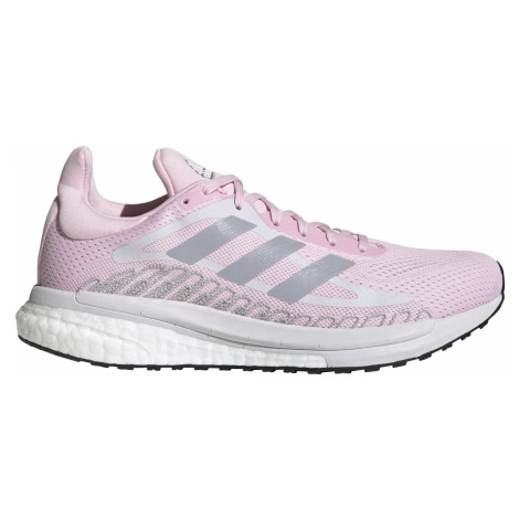 Dámská běžecká obuv adidas SOLARGLIDE ST Růžová / Bílá
