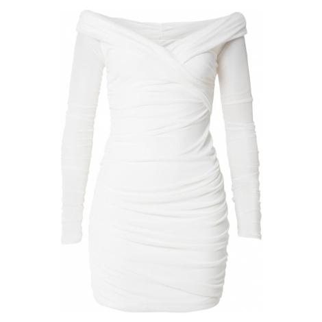 CLUB L LONDON Koktejlové šaty bílá