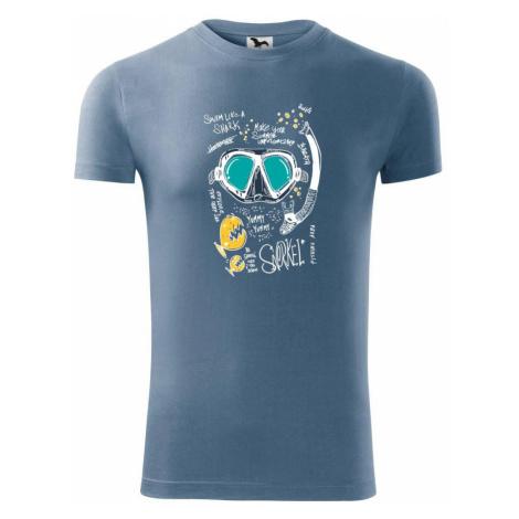 Potapěčské brýle text - Viper FIT pánské triko