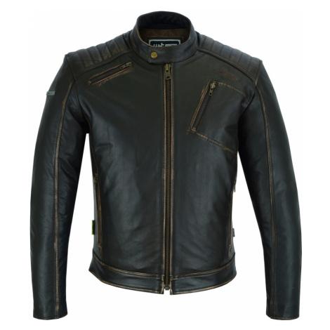 Kožená Moto Bunda W-Tec Embracer Vintage Dark Brown