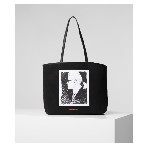 Taška Karl Lagerfeld Karl Legend Canvas Tote