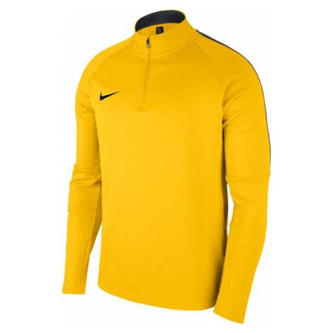 Dětská mikina Nike DRY ACDMY18 DRIL TOP Žlutá / Černá