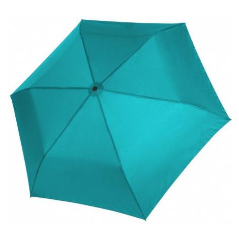 Modrý dámský/dětský skládací mechanický deštník Aline Doppler