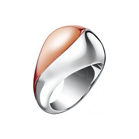 Calvin Klein Masívní bicolor prsten Empathic KJ1VPR2001