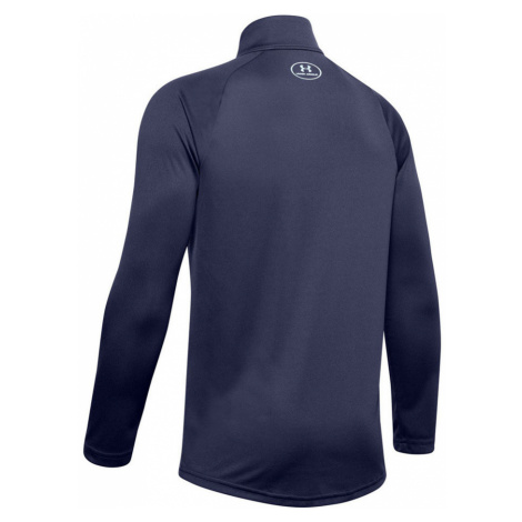 Under Armour TECH 2.0 1/2 ZIP Chlapecká mikina 1355589-497 Blue Ink