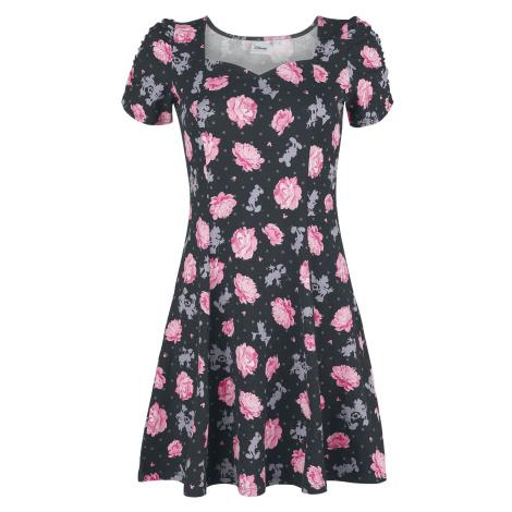 Mickey & Minnie Mouse Minnie Florals Šaty celoplošný