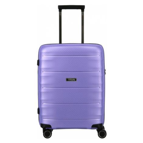 Cestovní kufr Titan Highlight 4W S 842406-19 38 L fialová