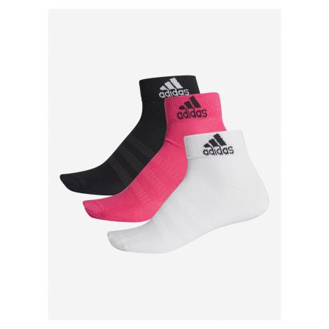 Ponožky adidas Performance Light Ank 3Pp Barevná