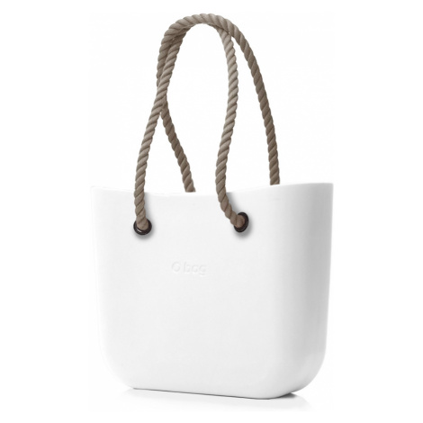 O bag kabelka Bianco s dlouhými provazy natural