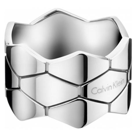 Calvin Klein Ocelový prsten Triple Snake KJ5DMR0002