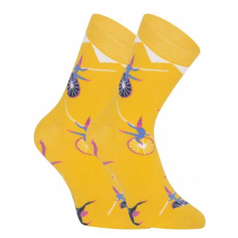 Veselé ponožky Dots Socks cirkus (DTS-SX-441-Y) S