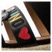 Černé sandály - LOVE MOSCHINO