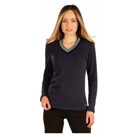 LITEX Mikina dámská s dlouhým rukávem 7A060514 tmavě modrá