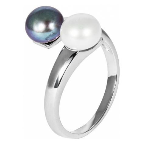 JwL Luxury Pearls Stříbrný prsten s pravými perlami JL0546