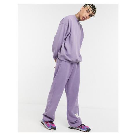 Jaded London garment dyed joggers in purple