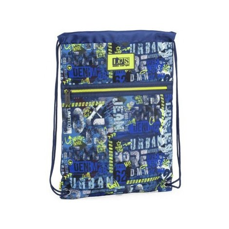 Lois HARD SKATE Chlapec školní taška Modrá